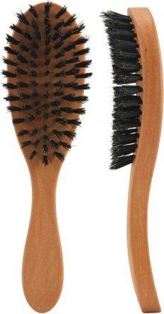 Haarpflegebürste, oval, 7 Reihen