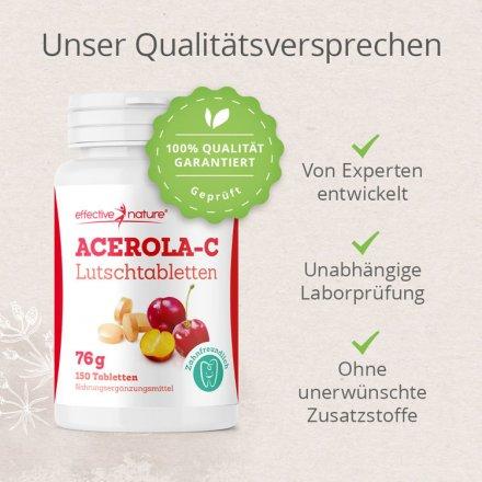 Acerola Lutschtabletten - 150 Stk.