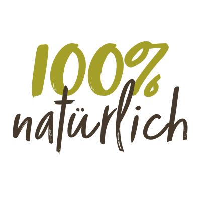 100 % natürliche Zutaten