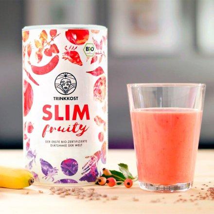 SLIM: Fruchtiger Abnehmshake in Bio-Qualität