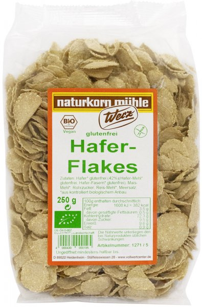 Hafer Flakes - Bio - 250g