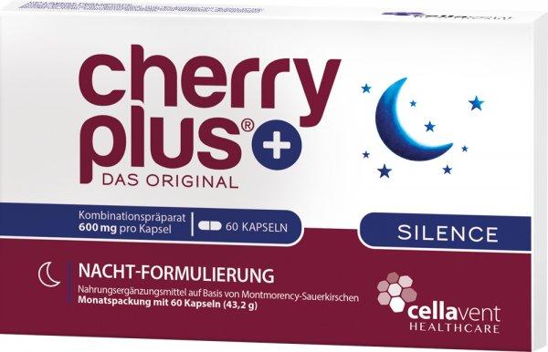 CherryPLUS Silence - 1 Monatspackung - 60 Kapseln