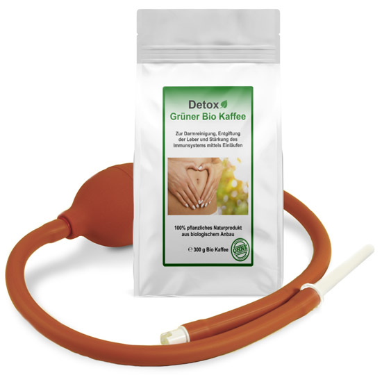 Grüner Kaffee + Klyso