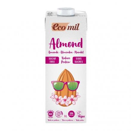 Mandel Drink Nature Protein zuckerfrei - EcoMil - Bio - 1000ml