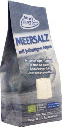 Meersalz mit jodhaltigen Algen - Bio - 500g