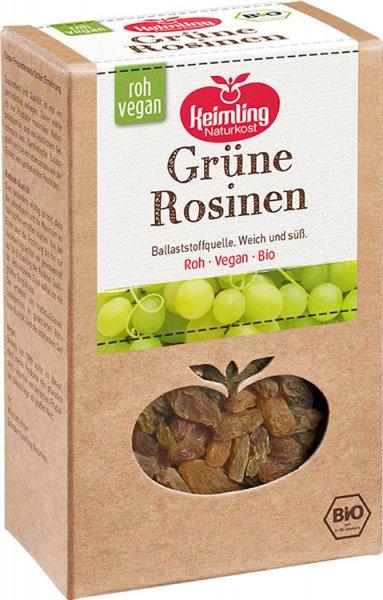 Grüne Rosinen - Bio - 200g