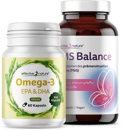 PMS Balance und Omega-3 EPA & DHA