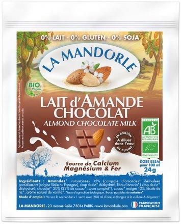 Mandeldrink Pulver Schokolade - Bio - Tester - 24g