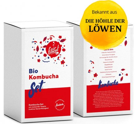 Kombucha-Set - Bio
