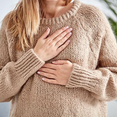 Bei Histaminintoleranz: Atembeschwerden können auftreten