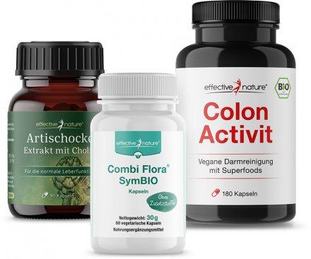 Sensitive Darmkur mit Artischocken-Extrakt und Probiotika