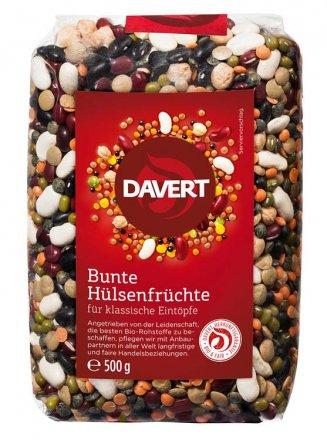 Bunte Hülsenfrüchte - Davert - Bio - 500g