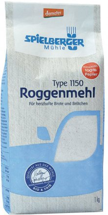 Roggenmehl Type 1150 demeter - Spielberger - Bio - 1000g