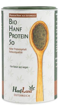 Hanfprotein aus Hanfsamen