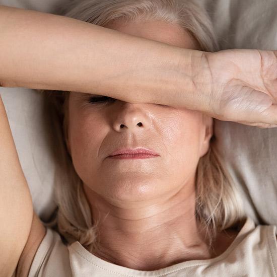 Schlafstörungen während der Menopause