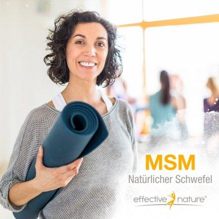 MSM natürlicher Schwefel - 250 Kapseln