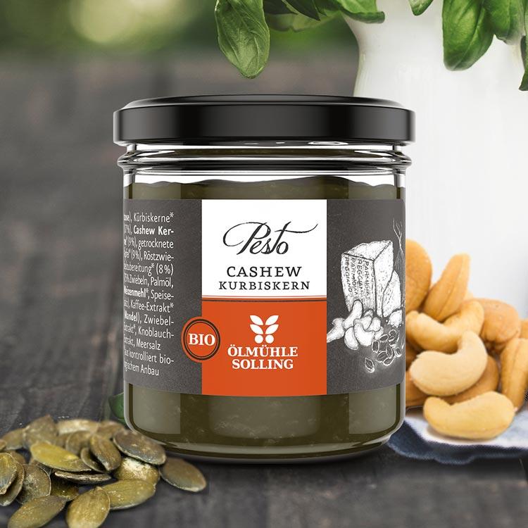 Cashew-Kürbiskern-Pesto
