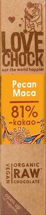 Veganer Schokoladenriegel Pecan-Maca