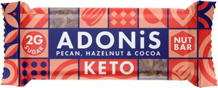 Adonis Low Sugar Riegel Pekannuss, Goji Beere, Kakao - 33.7g
