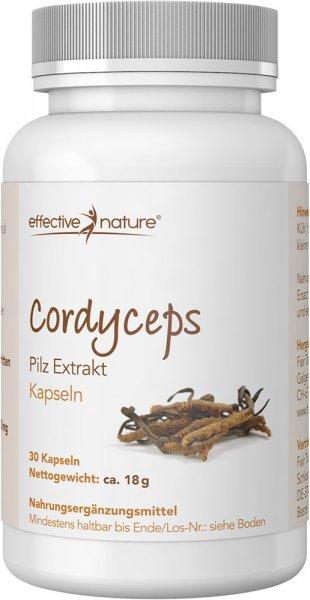 Cordyceps Kapseln - 30 Stk. - 18g