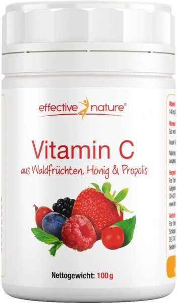 Vitamin C Natural Pulver - 100g
