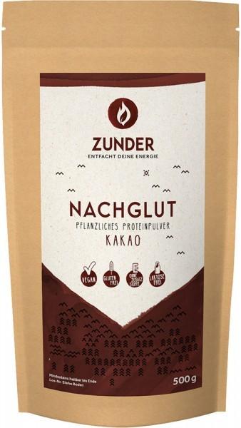Nachglut - Pflanzliches Proteinpulver - Kakao - 500g