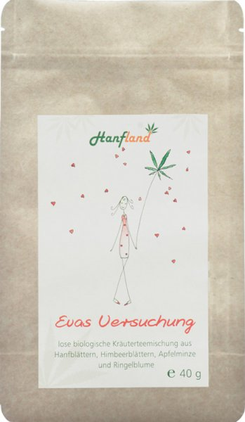 Evas Versuchung Hanf-Teemischung - Bio - 40g