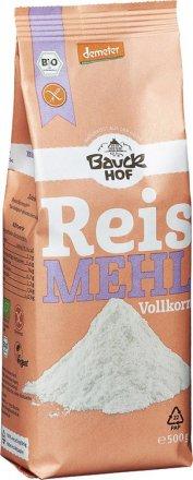 Reismehl Vollkorn - Bio - Bauck Hof - 500g