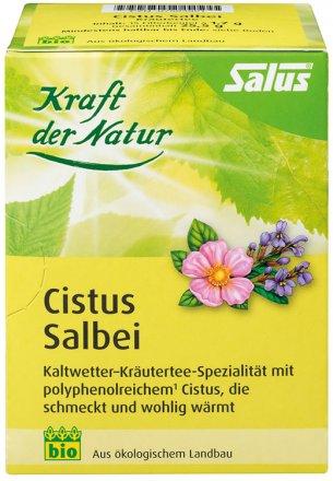 Bio-Kräuterteemischung mit Cistus und Salbei