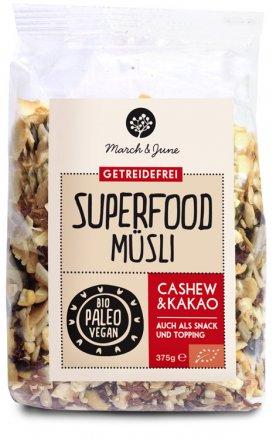 Superfood Müsli Cashew & Kakao