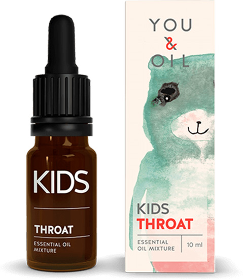 Kids-Öl Hals
