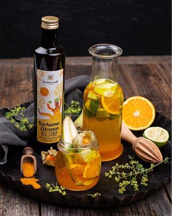 Kurkuma-Zitronen Sirup - Bio - 500 ml