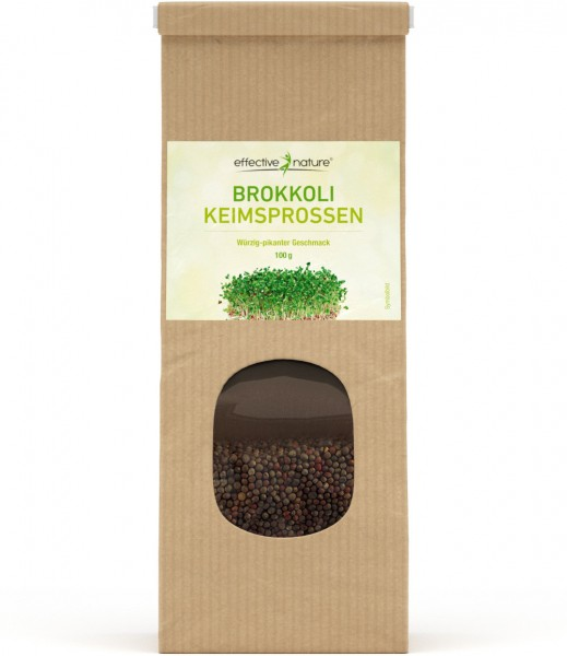 Sprossen Keimsaat Brokkoli - Bio - 100g