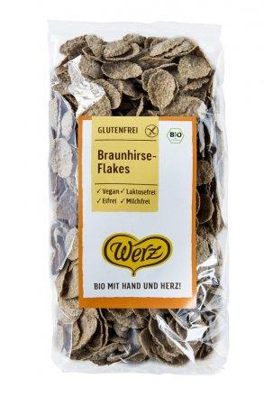 Glutenfreie Braunhirse-Flakes - in Bio-Qualität
