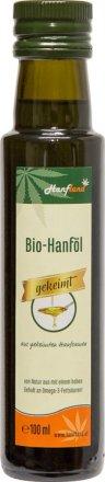 Gekeimtes Hanföl - kaltgepresst - Bio - 100ml