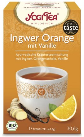 Yogi Tea Ingwer Orange - Bio - 30.6g