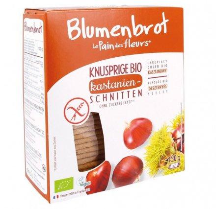 Glutenfreies Bio-Brot aus Reismehl - mit Kastanien
