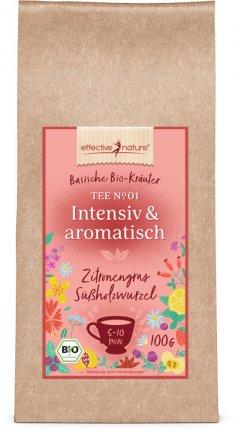 Intensiv-aromatischer Bio-Kräutertee