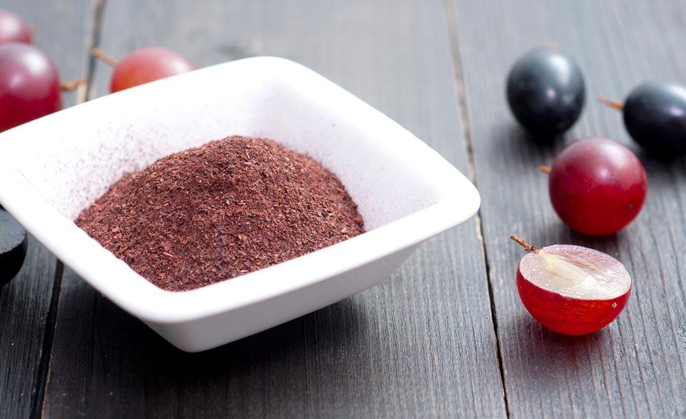 Traubenkernextrakt und Trauben