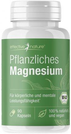 Pflanzliches Magnesium in Bio-Qualität