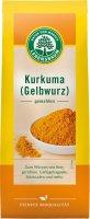 Gemahlener Kurkuma in Bio-Qualität