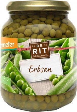 Feine Erbsen aus Demeter-Bioanbau