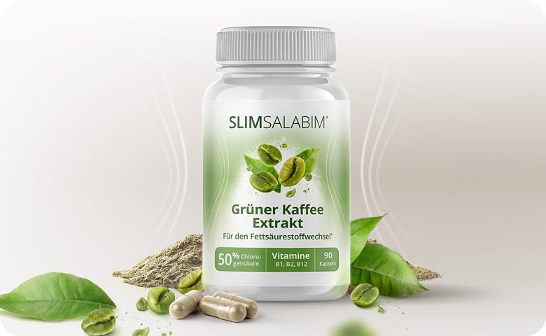 Grüner-Kaffee-Extrakt von Slimsalabim