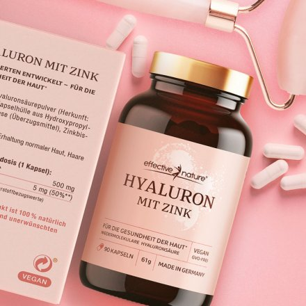 Hyaluronic Acid with Zinc