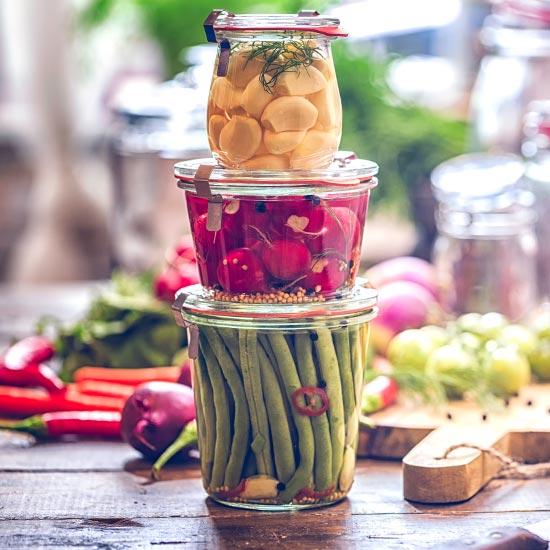 Wie werden Lebensmittel fermentiert?