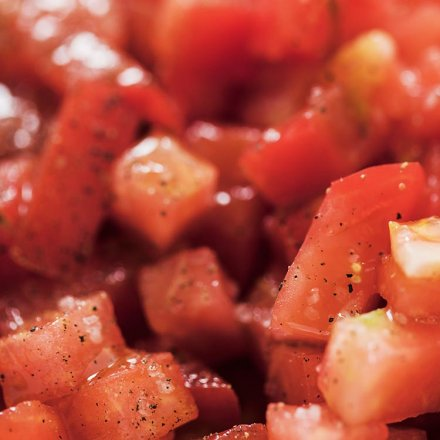Tomaten gehackt mit Basilikum - Biona - Bio - 400g
