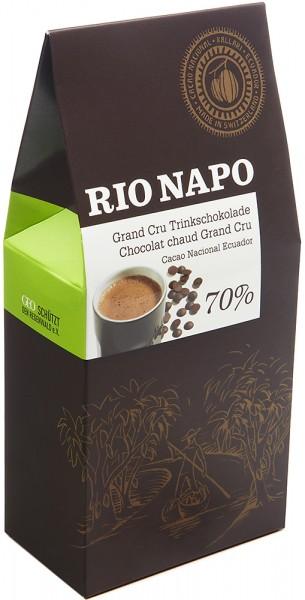 Rio Napo Grand Cru Trinkschokolade Tropfen 70% - Bio - 300g