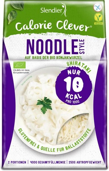 Konjak Noodles - Slendier - Bio - 400g - 6 Einheiten
