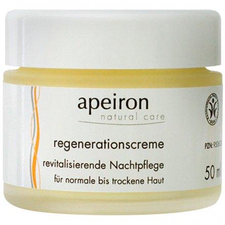 Regenerationscreme - revitalisierende Nachtpflege mit Hyaluron & Sanddorn - 50ml