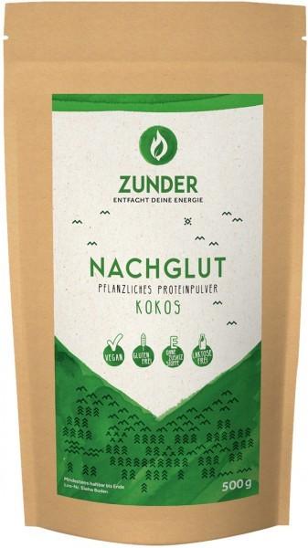 Nachglut - Pflanzliches Proteinpulver - Kokos - 500g